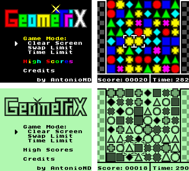 Screenshot of Geometrix